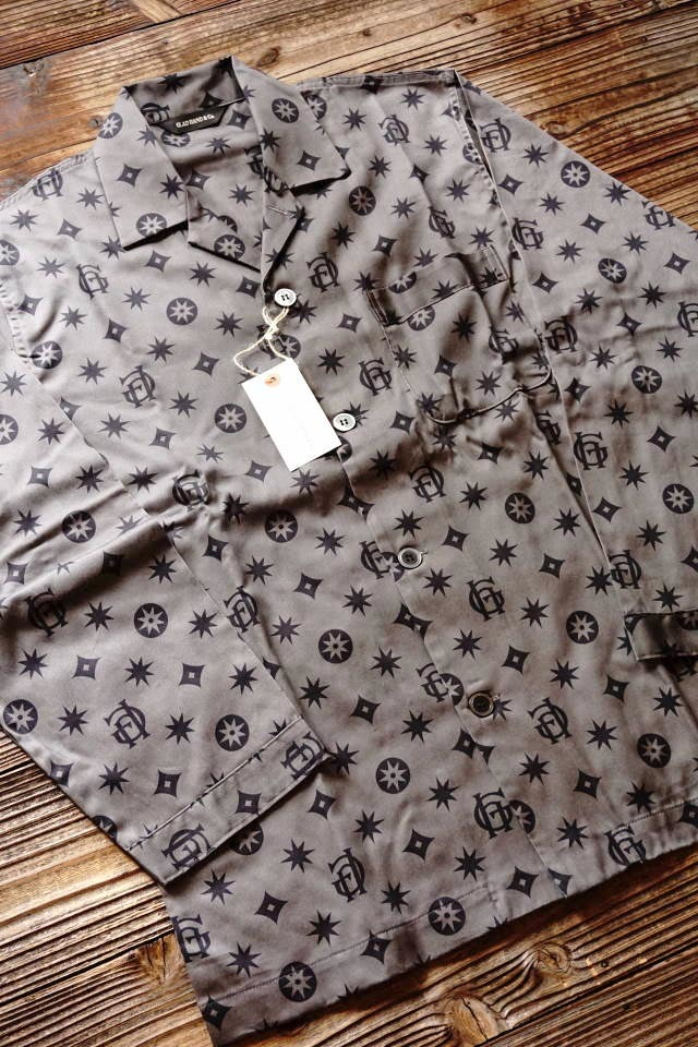 GLAD HAND & Co. GH FAMILY CREST - PAJAMA GRAY
