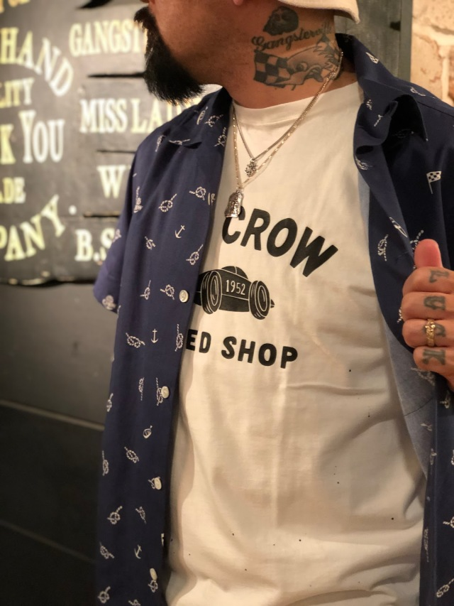 OLD CROW BELLY TANK - S/S T-SHIRTS WHITE