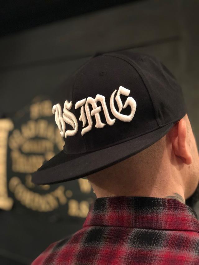 B.S.M.G. B LETTERS - CAP BLACK
