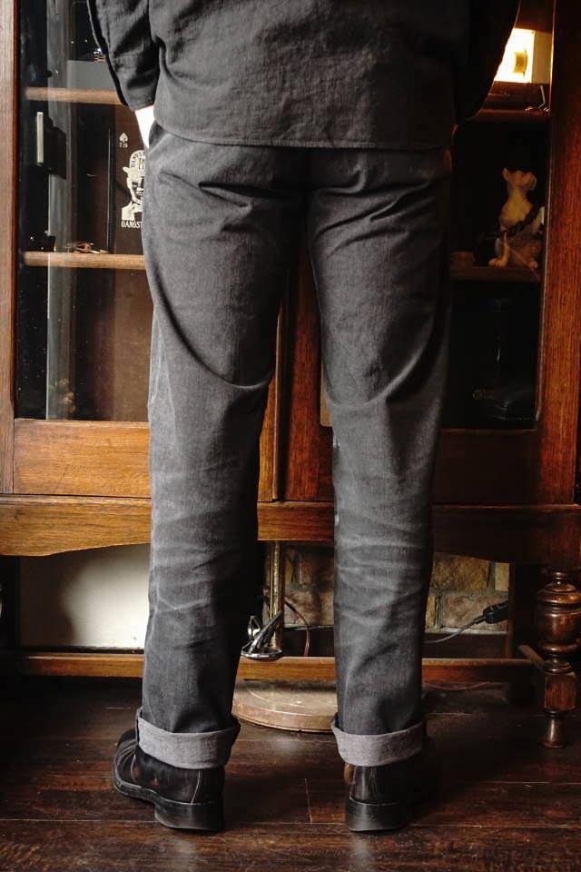 OLD CROW OLD RODDER - CHINO PANTS BLACK