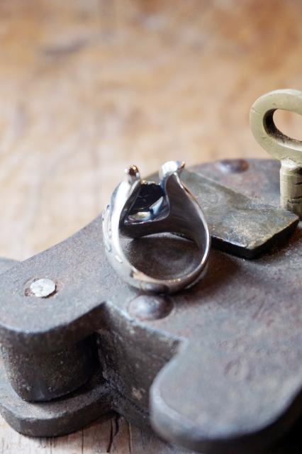 galcia R-MHS201SB : Horseshoe RING