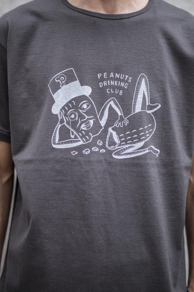 Peanuts & Co. PEANUTS D CLUB T-SHIRT BLACK