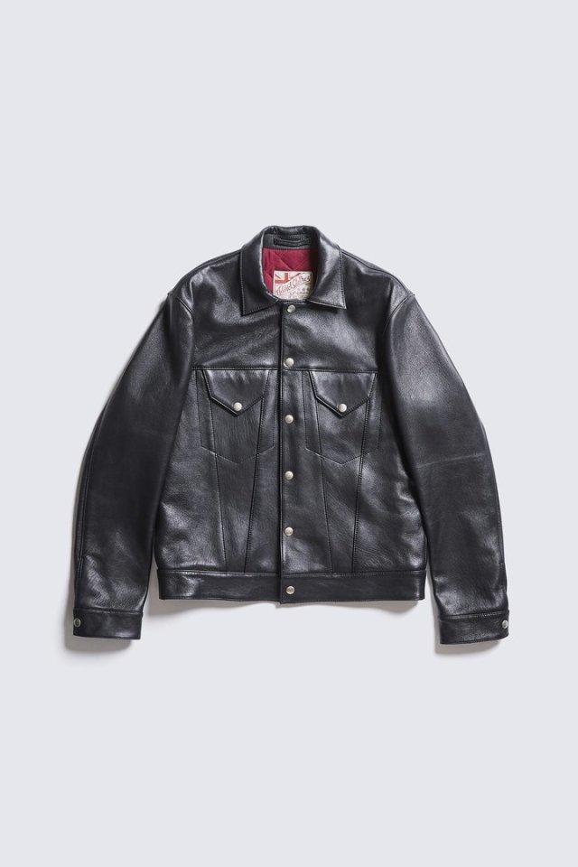ADDICT CLOTHES JAPAN AD-09 GRANADA JACKET (SHEEP) BLACK