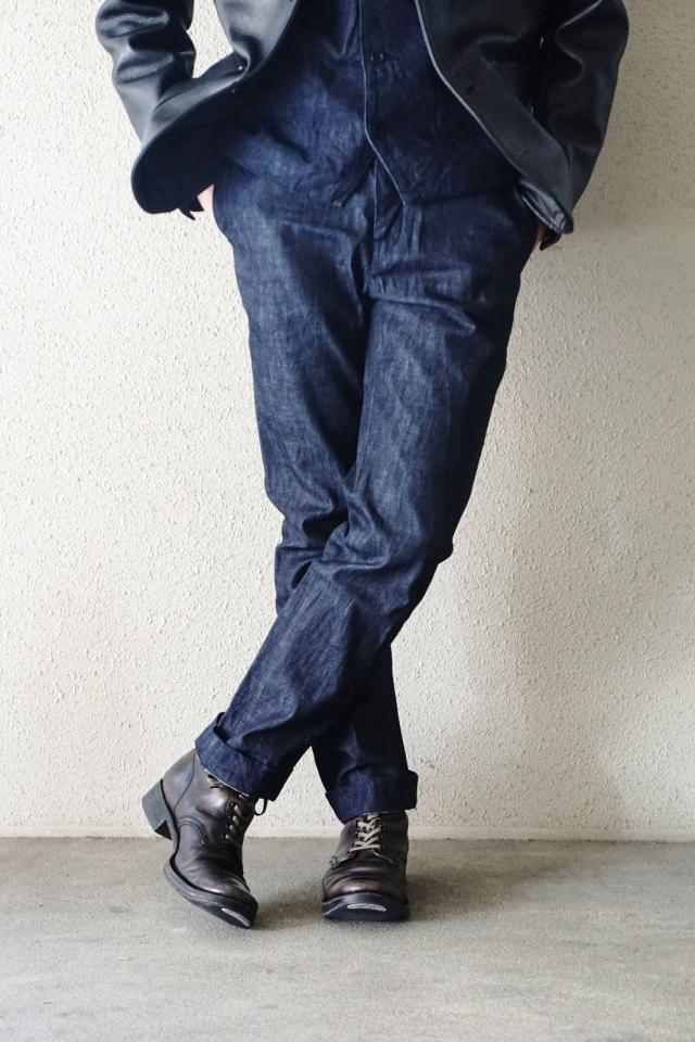 ADDICT CLOTHES JAPAN ACVM ACV-TR01FC DENIM WORK TROUSER