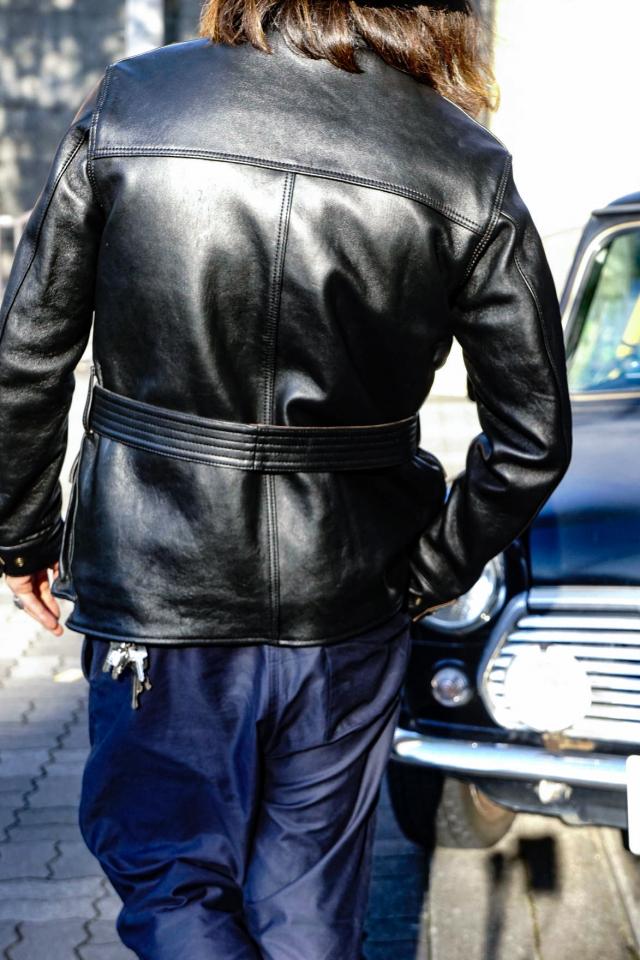 ADDICT CLOTHES JAPAN AD-10 BMC JACKET (SHEEP) BLACK