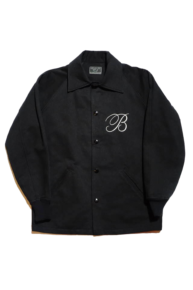 B.S.M.G. B LETTERS - JACKET BLACK