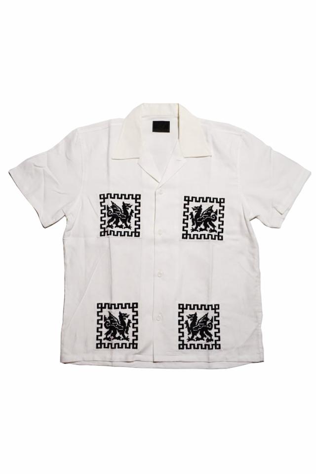 B.S.M.G. DRAGON GUATEMALA - S/S SHIRTS WHITE