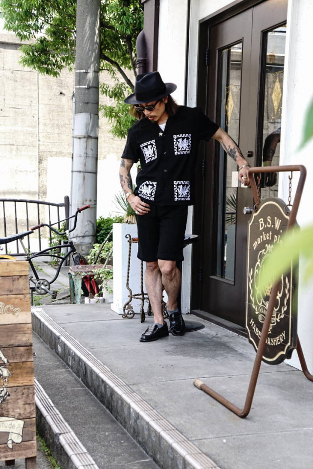 B.S.M.G. DRAGON GUATEMALA - S/S SHIRTS BLACK