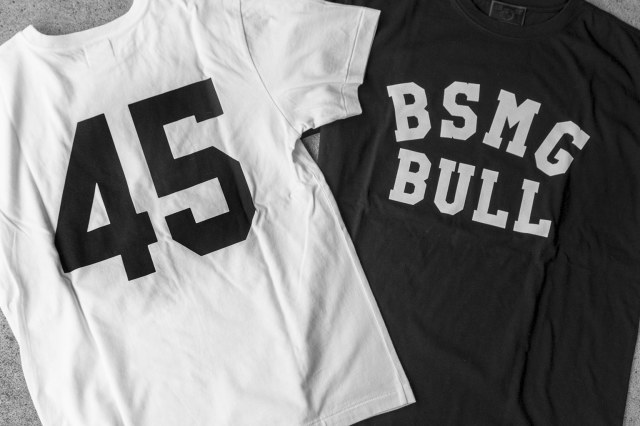 B.S.M.G. GAME - T-SHIRTS WHITE