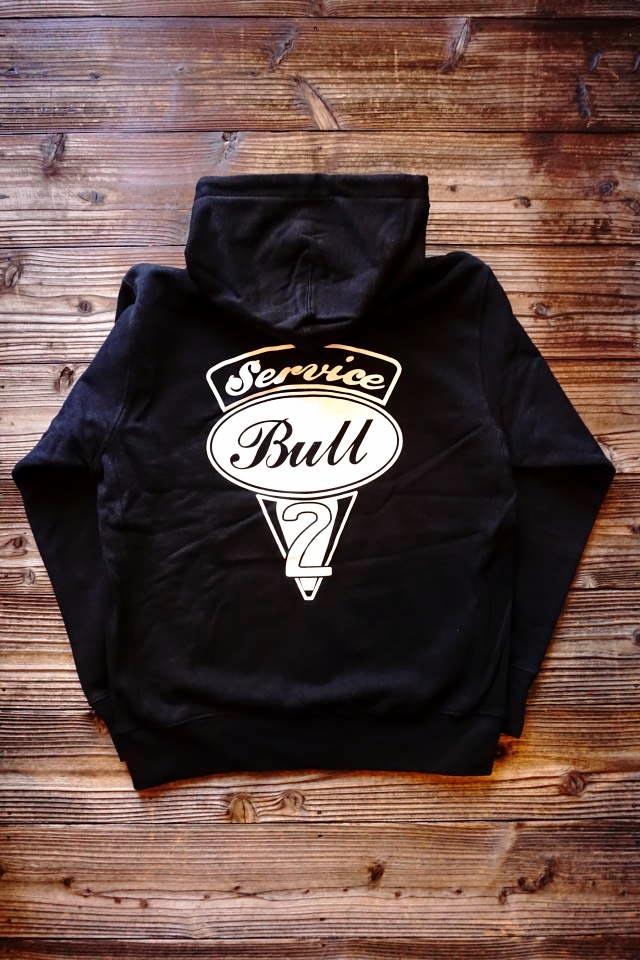 Bull Classics V2 Logo Zip Foody BLACK