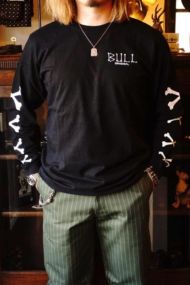 Bull Classics Cross Bone L/S Tsh BLACK