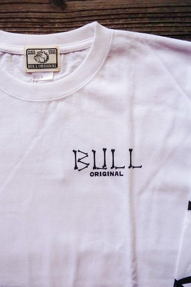 Bull Classics Cross Bone L/S Tsh WHITE