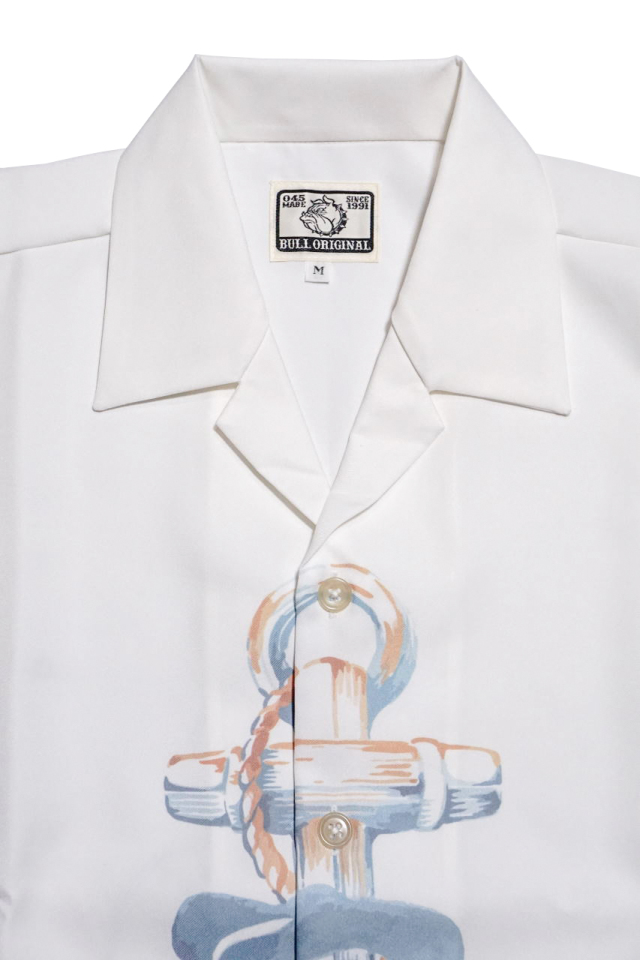 Bull Classics ANCHOR SHIRTS L/S WHITE