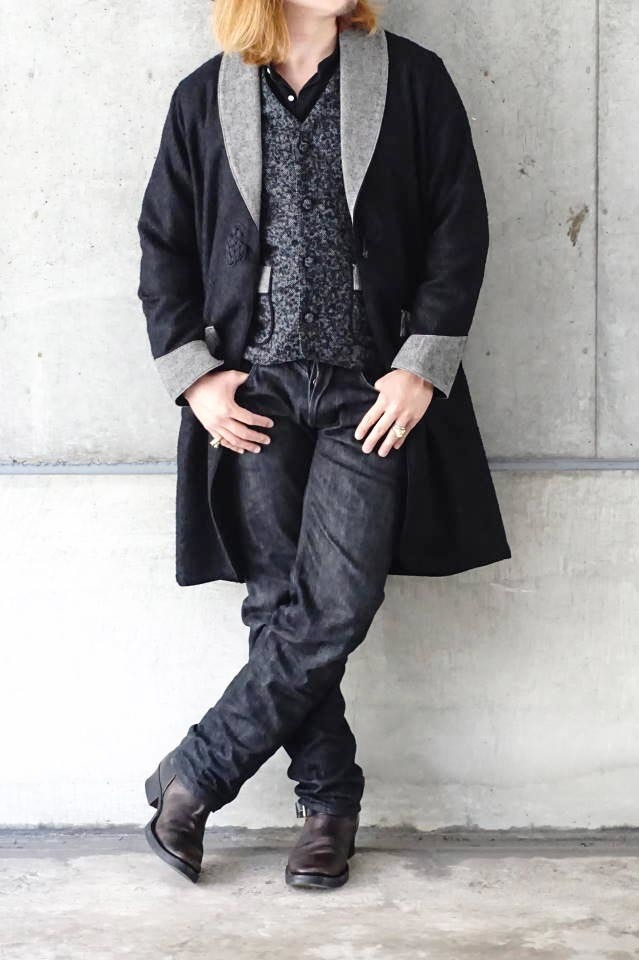 BY GLAD HAND GLANDAD - JACKET ※LONG BLACK