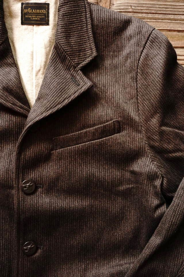 BY GLAD HAND MIGRANT - JACKET BLACK