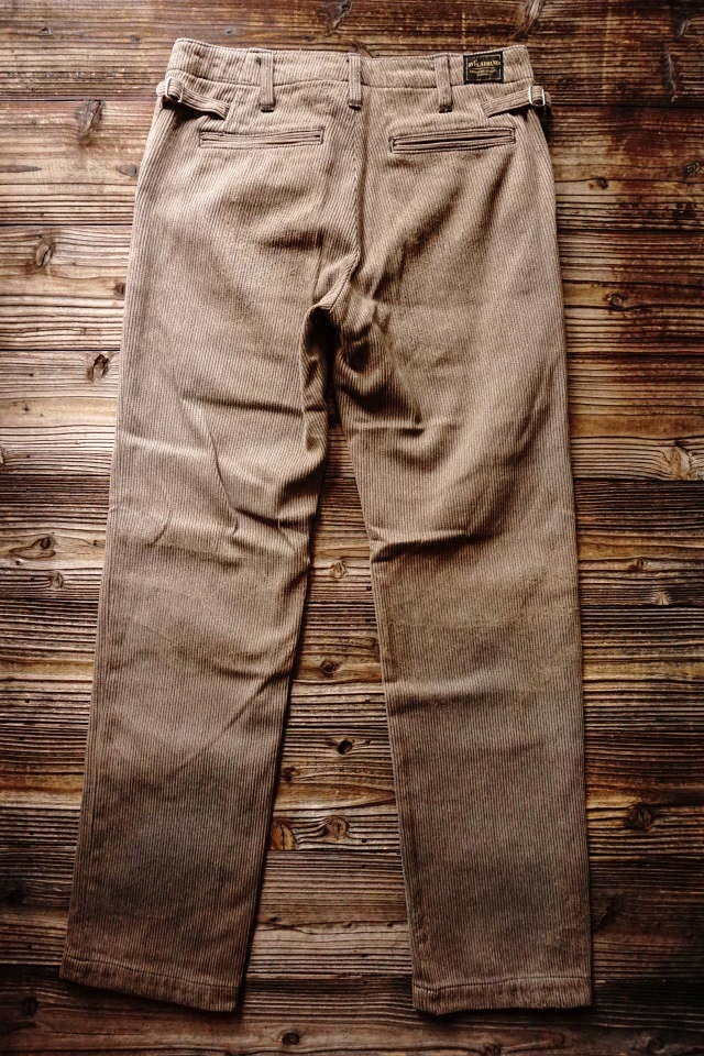 BY GLAD HAND MIGRANT - PANTS ※VINTAGE FINISH BROWN