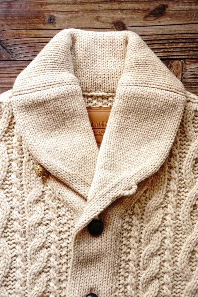 BY GLAD HAND ISLANDS - CARDIGAN IVORY