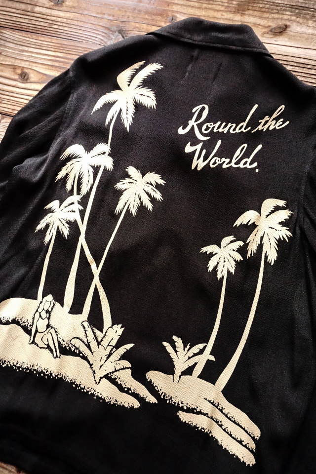BY GLAD HAND ROUND THE WORLD - L/S SHIRTS BLACK