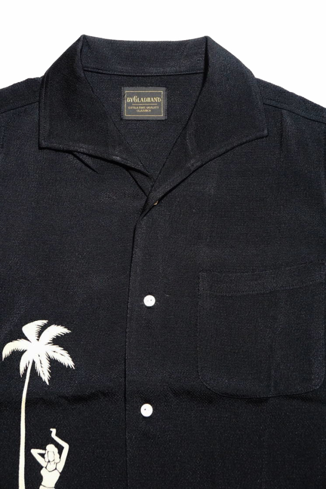 BY GLAD HAND ROUND THE WORLD - S/S SHIRTS BLACK