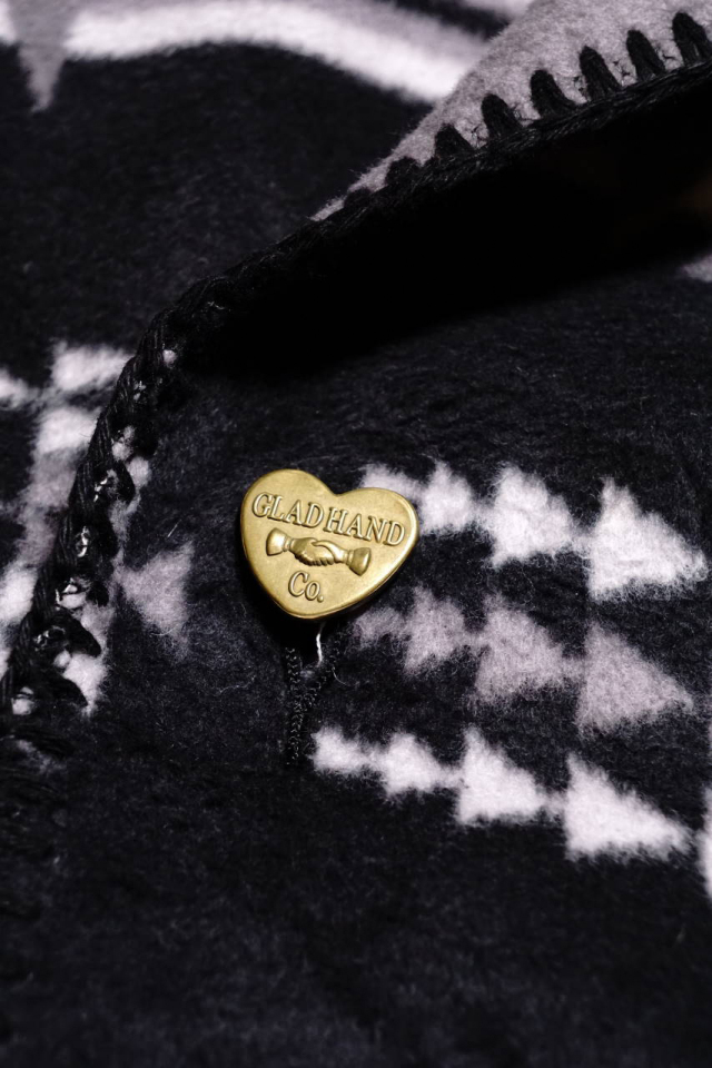 BY GLAD HAND SPIRITS HEART - JACKET BLACK