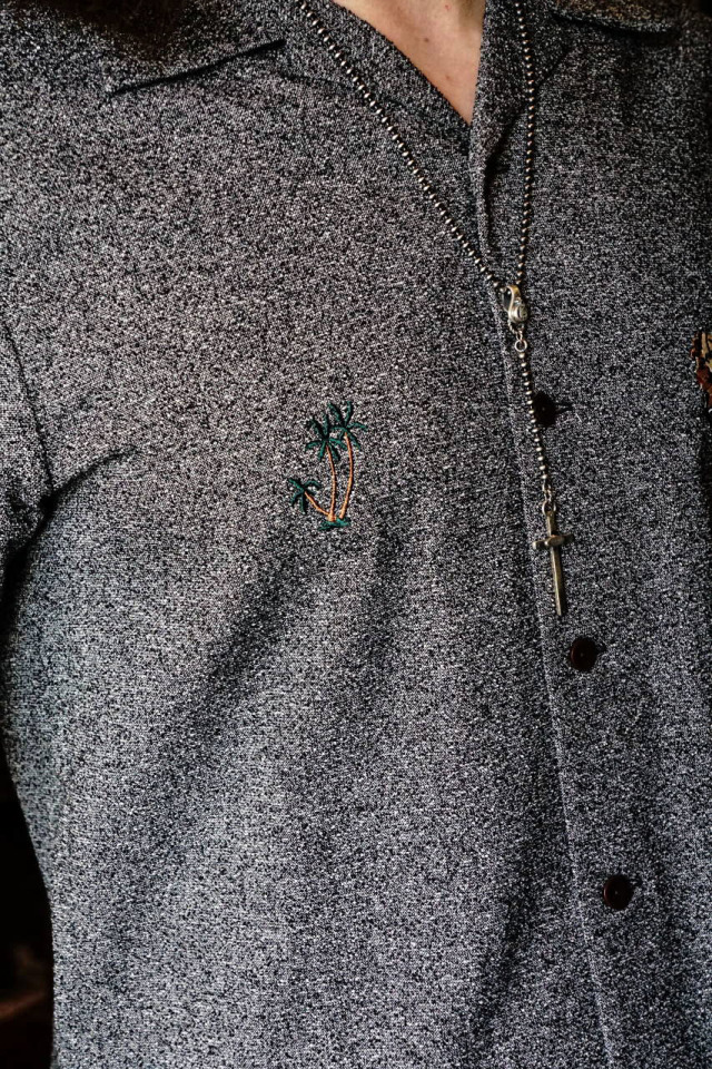 BY GLAD HAND MARY - L/S SHIRTS GRAY
