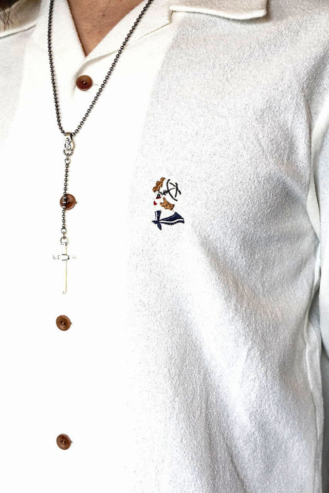 BY GLAD HAND MARY - L/S SHIRTS WHITE