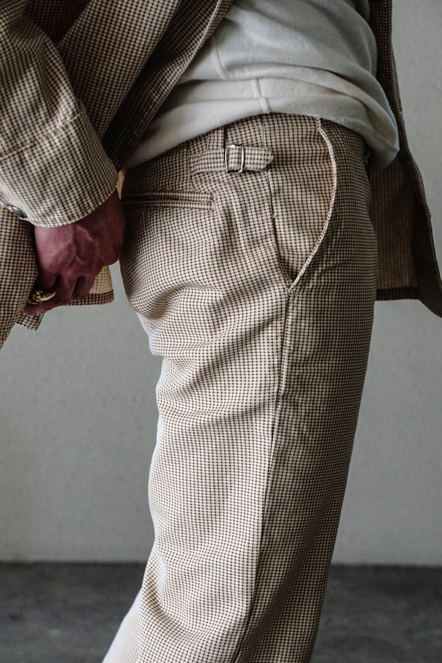 BY GLAD HAND EMPIRE GLAD - TROUSERS CHECK