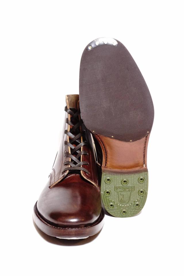CLINCH Yeager boots Horsebutt overdye BROWN