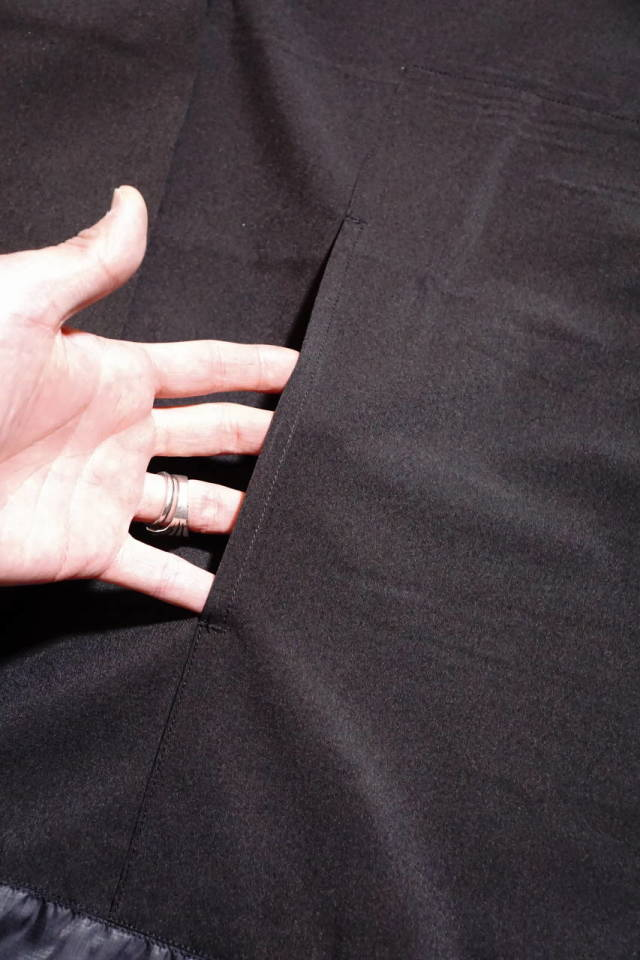 COMFY OUTDOOR GARMENT GRAVEL L/S TEE BLACK