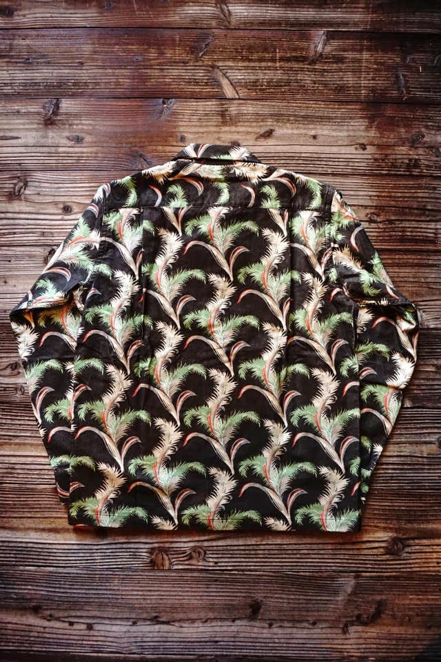 5 WHISTLE HAWAIIAN - SHIRT BLACK