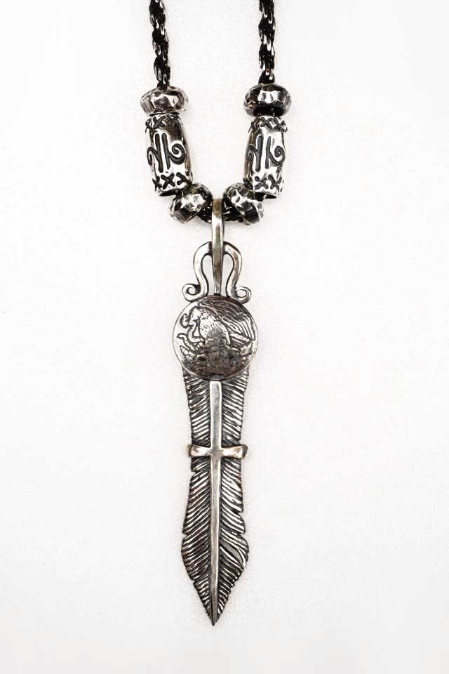 galcia 16NT-FE101 : Aguila Mexicana Feather LARGE CHAIN SET
