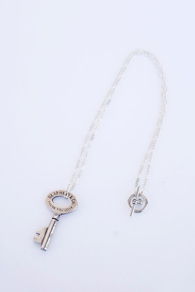 GLAD HAND JEWELRY KEY TOP & CHAIN SILVER925