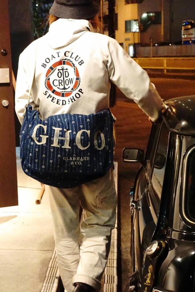 GLAD HAND & Co. HEARTLAND - NEWS PAPER BAG INDIGO