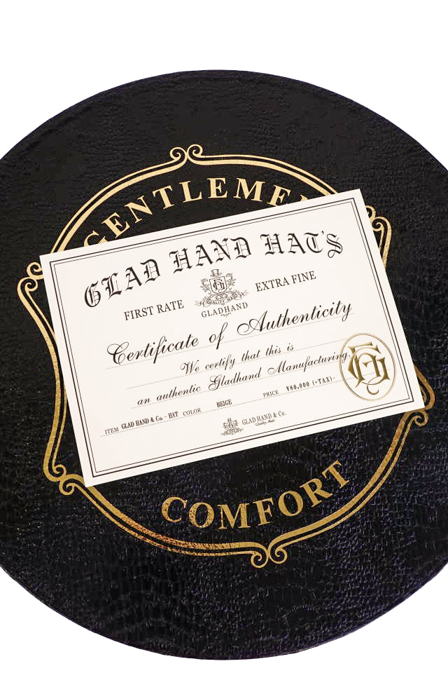 GLAD HAND & Co. - HAT JOHN G BEIGE