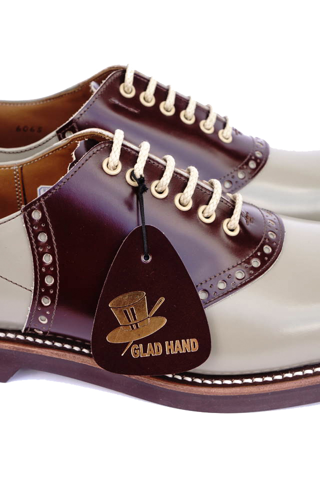 GLAD HAND × REGAL SADDLE SHOES GRY/BRN