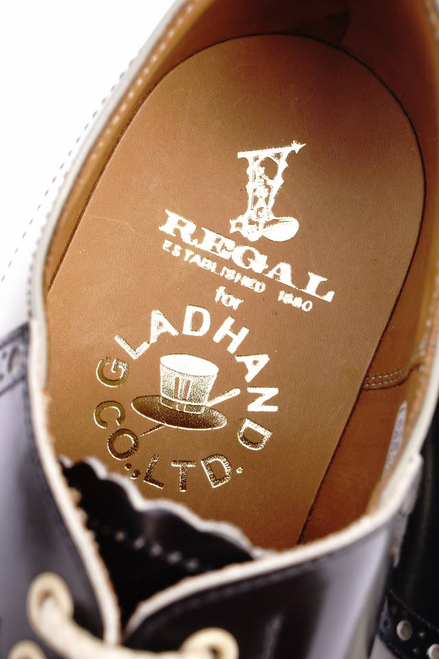 GLAD HAND × REGAL SADDLE SHOES GRY/BLK