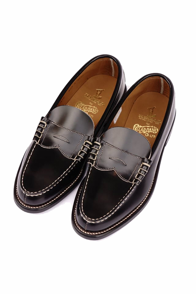 GLAD HAND × REGAL COIN LOAFERS - SHOES BLACK
