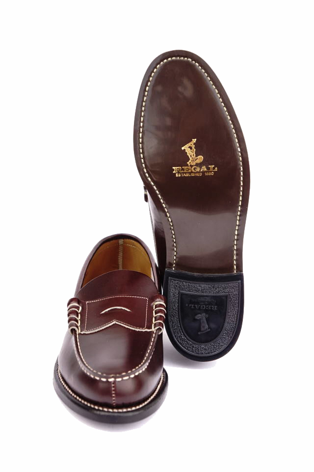 GLAD HAND × REGAL COIN LOAFERS - SHOES BROWN