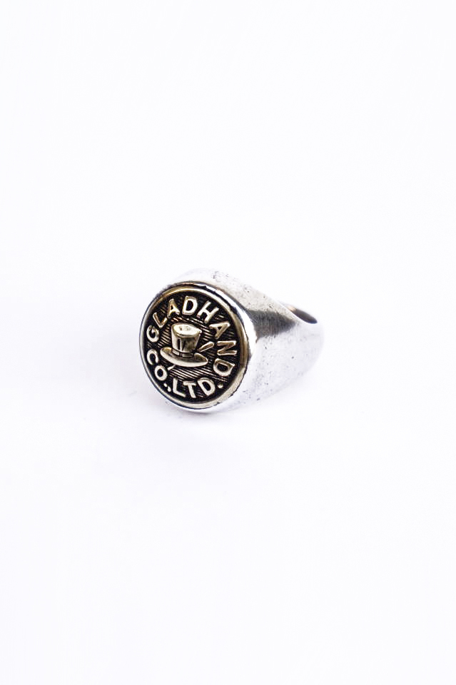 GLAD HAND. BUTTON RING
