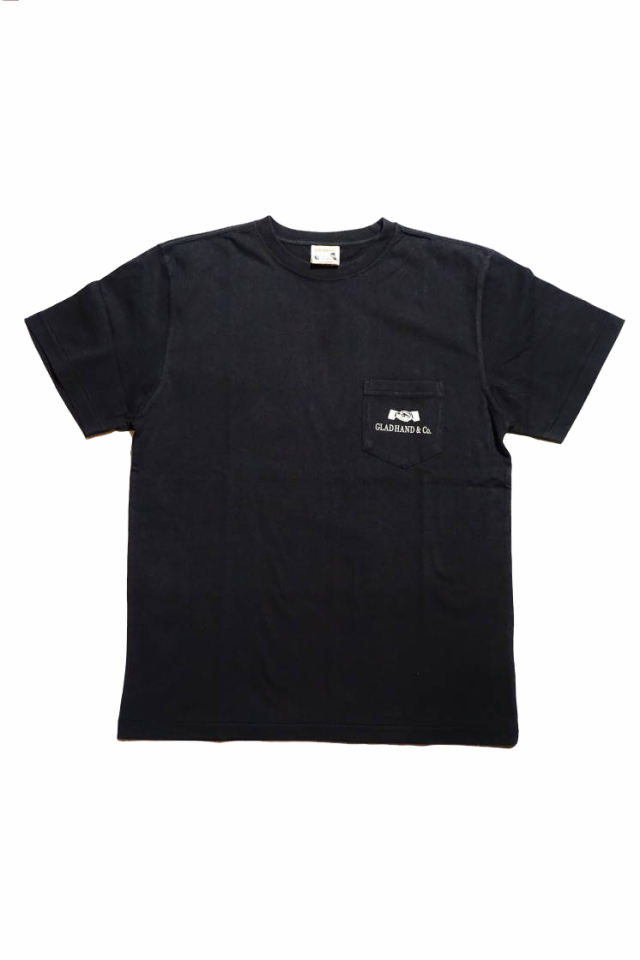 GLAD HAND GH DAILY - POCKET T-SHIRTS BLACK