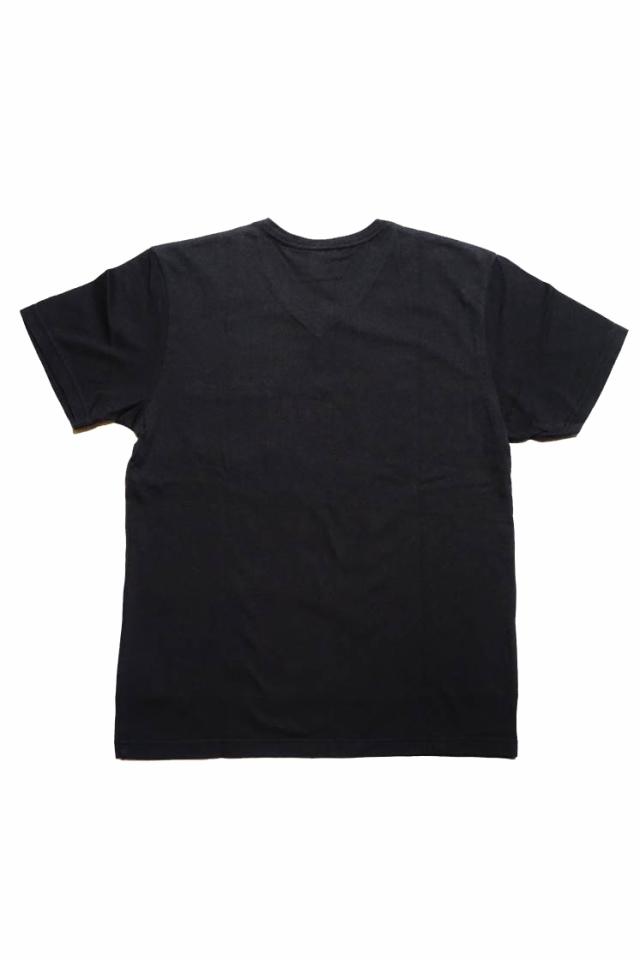 GLAD HAND GH DAILY - V-NECK T-SHIRTS BLACK