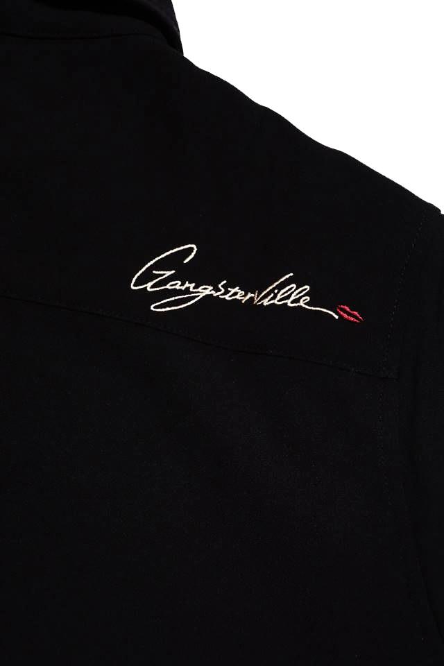 GANGSTERVILLE GAMBLER - L/S SHIRTS BLACK