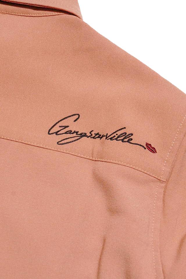 GANGSTERVILLE GAMBLER - L/S SHIRTS PINK