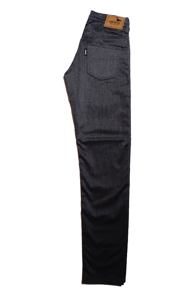 GANGSTERVILLE THUG - CHINO PANTS SLIM BLACK