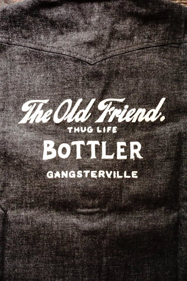 GANGSTERVILLE BOTTLER - L/S SHIRTS BLACK