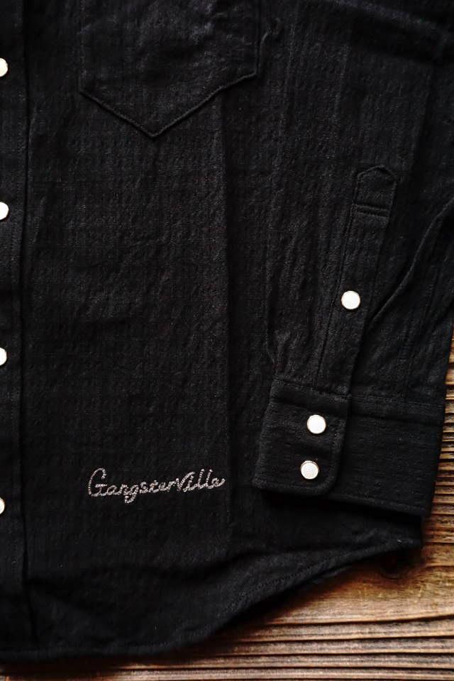 GANGSTERVILLE KINGSLAND - L/S SHIRTS BLACK