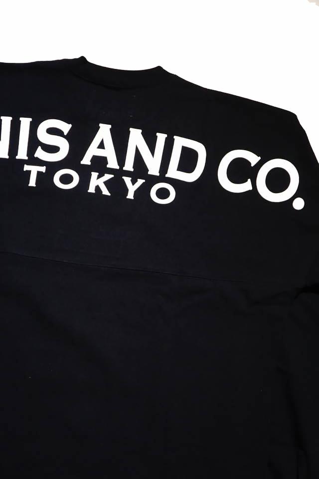 JANIS & Co. JNS TKO - BIG L/S TS (BLACK)