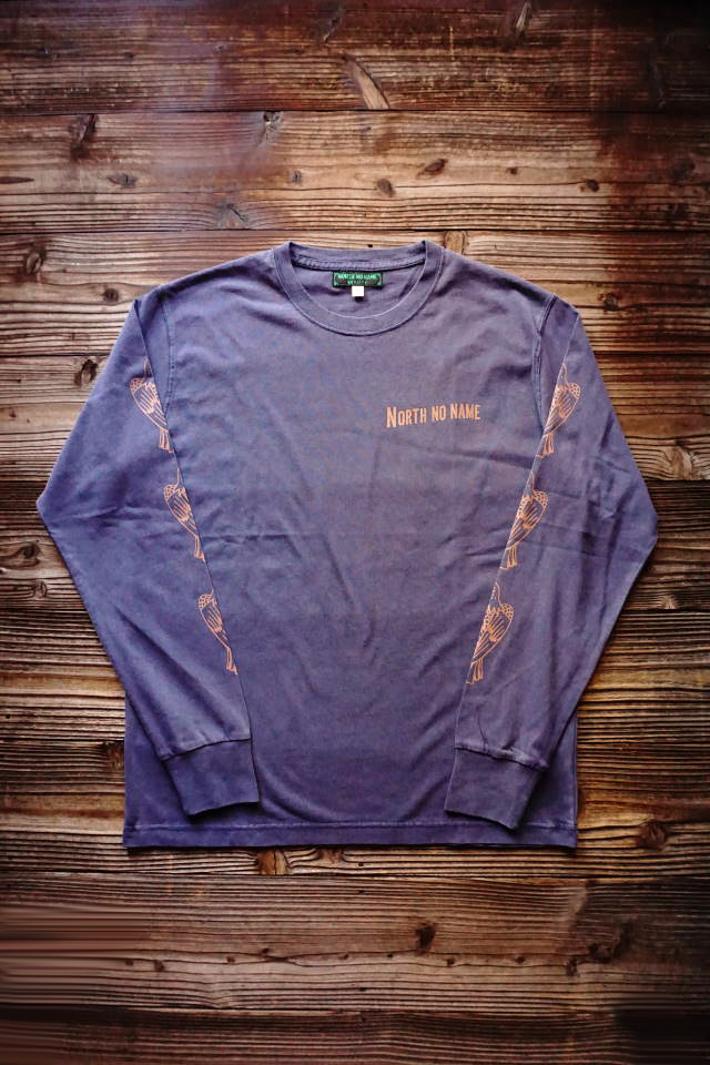 NORTH NO NAME NNN PATCH PATTERN L/S T
