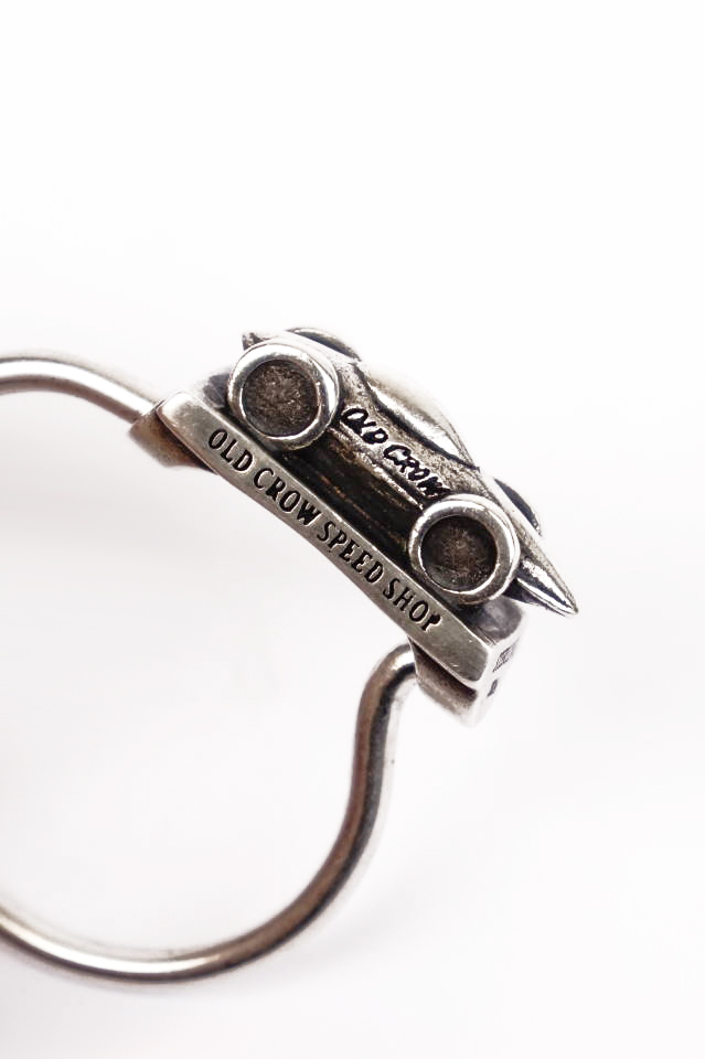 OLD CROW BELLY TANK - KEY RING SILVER925