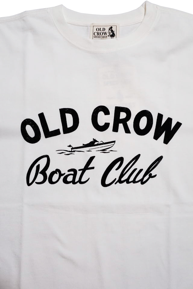 OLD CROW BOAT CLUB - S/S T-SHIRTS WHITE